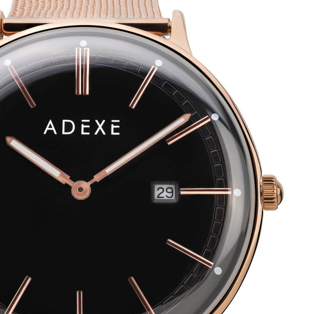 Petite Gold Mesh 32.5mm - ADEXE Watches