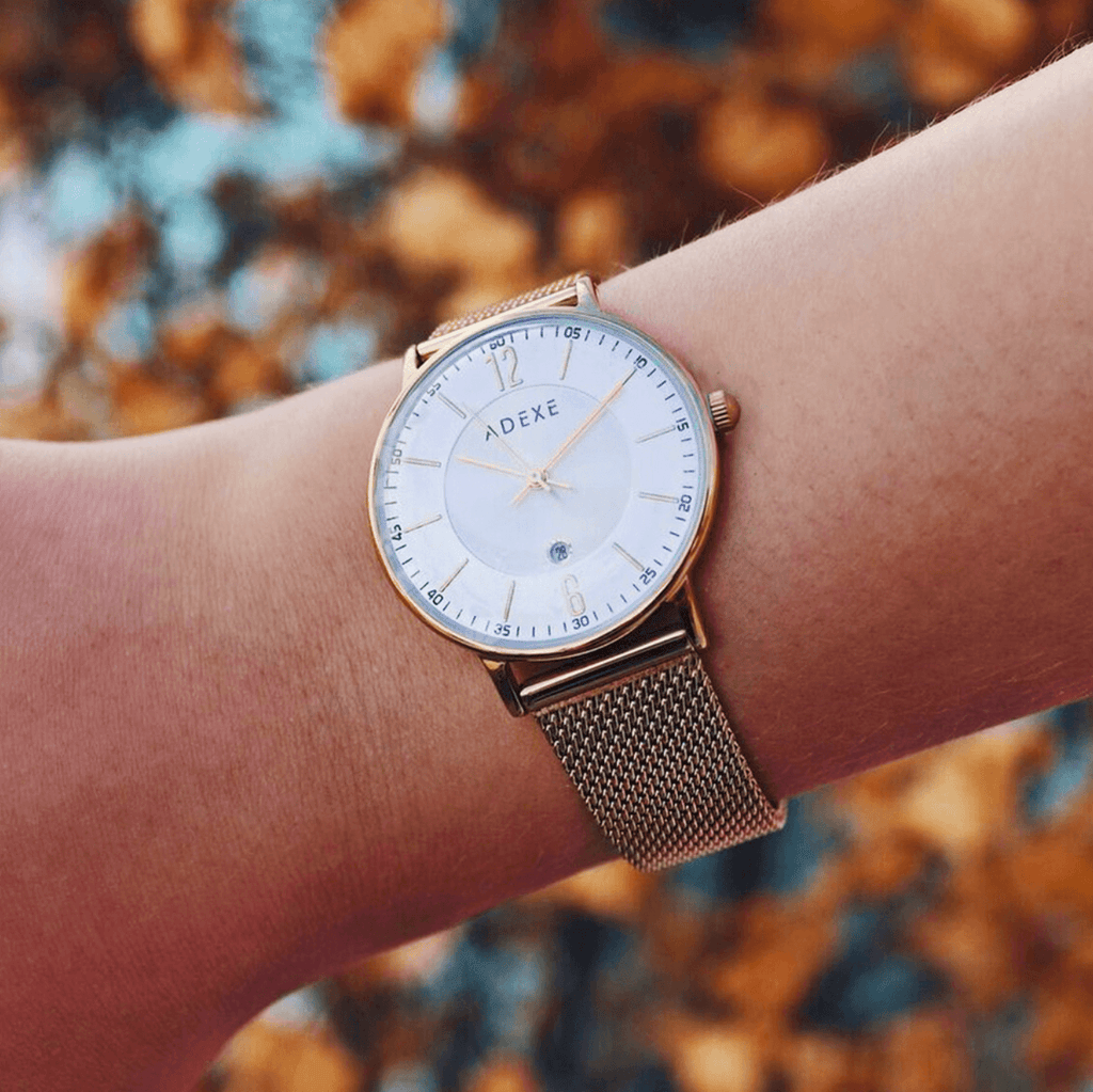 Petite Mesh Case 32.5mm - ADEXE Watches