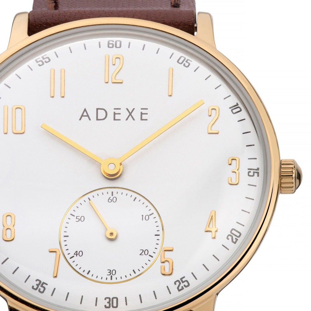 Petite 2.0 -  Gold Case 33mm - ADEXE Watches