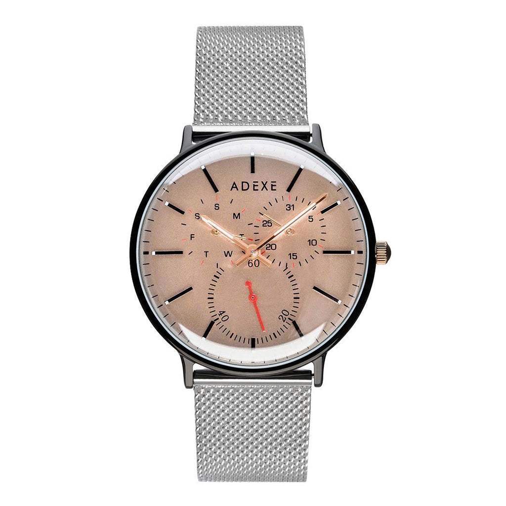 THEY - Grande Silver & Beige (NEW) Watch Adexe