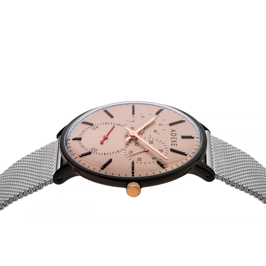 THEY-Grande Silver&Beige(NEW)Watch Adexe