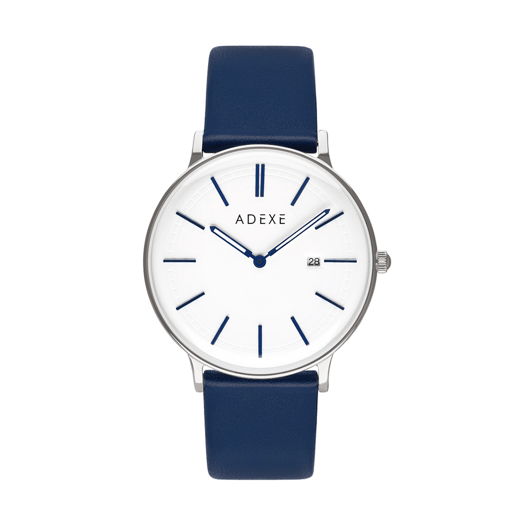 Grande Leather ADEXE Watches Blue