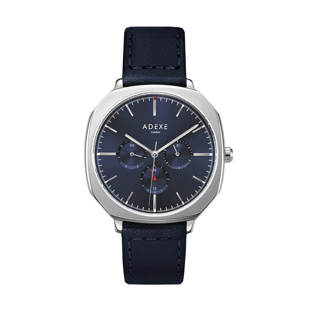 Sloane ADEXE Watches Silver & Navy