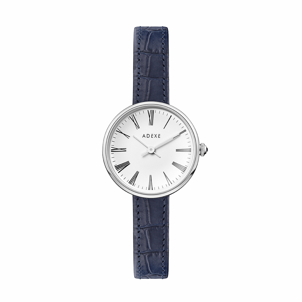 Silver Case - Ocean Blue - ADEXE Watches