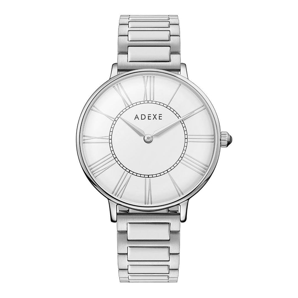 Grande Silver ADEXE Watches Classic White