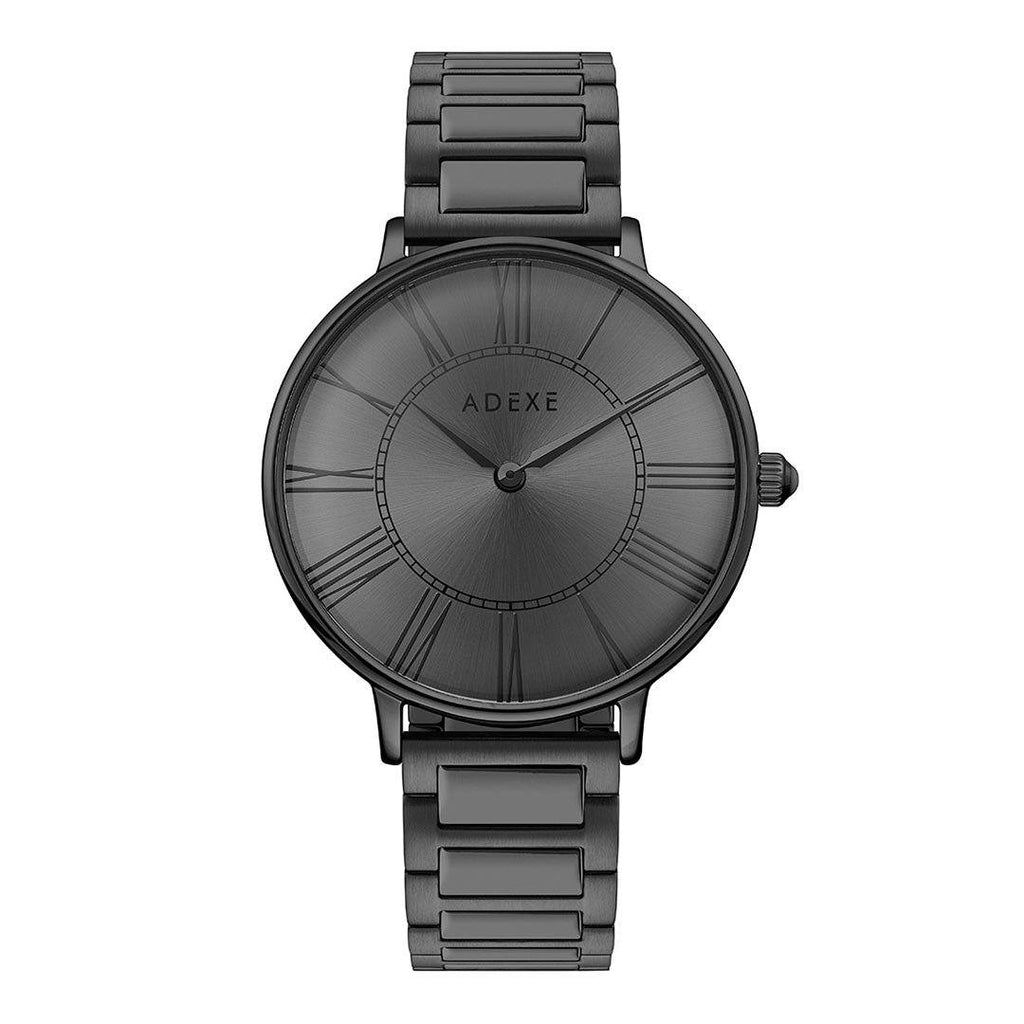 Grande Gun Black Case 41mm - ADEXE Watches