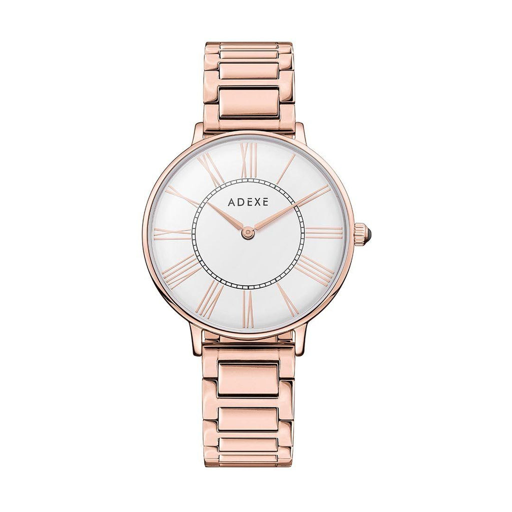 Petite White Case 33mm - ADEXE Watches