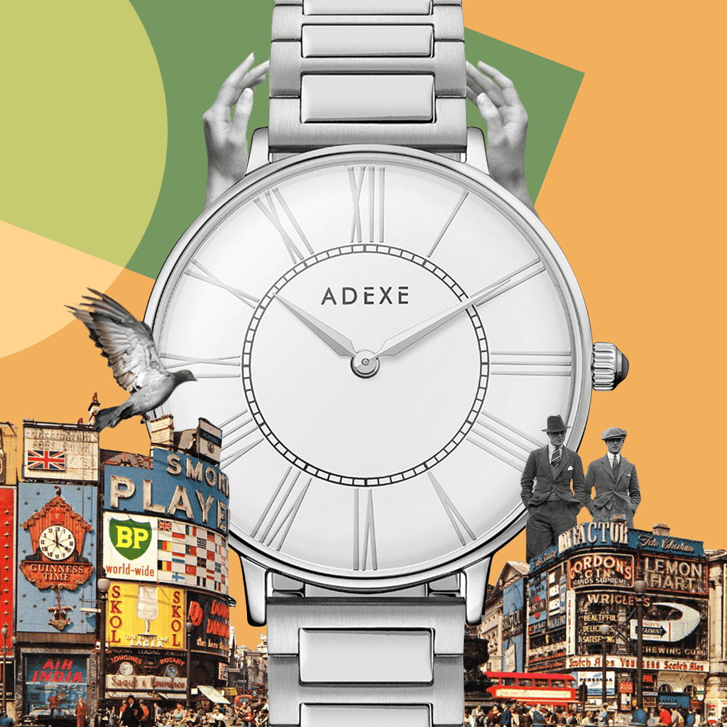 Grande Classic White Case 41mm - ADEXE Watches