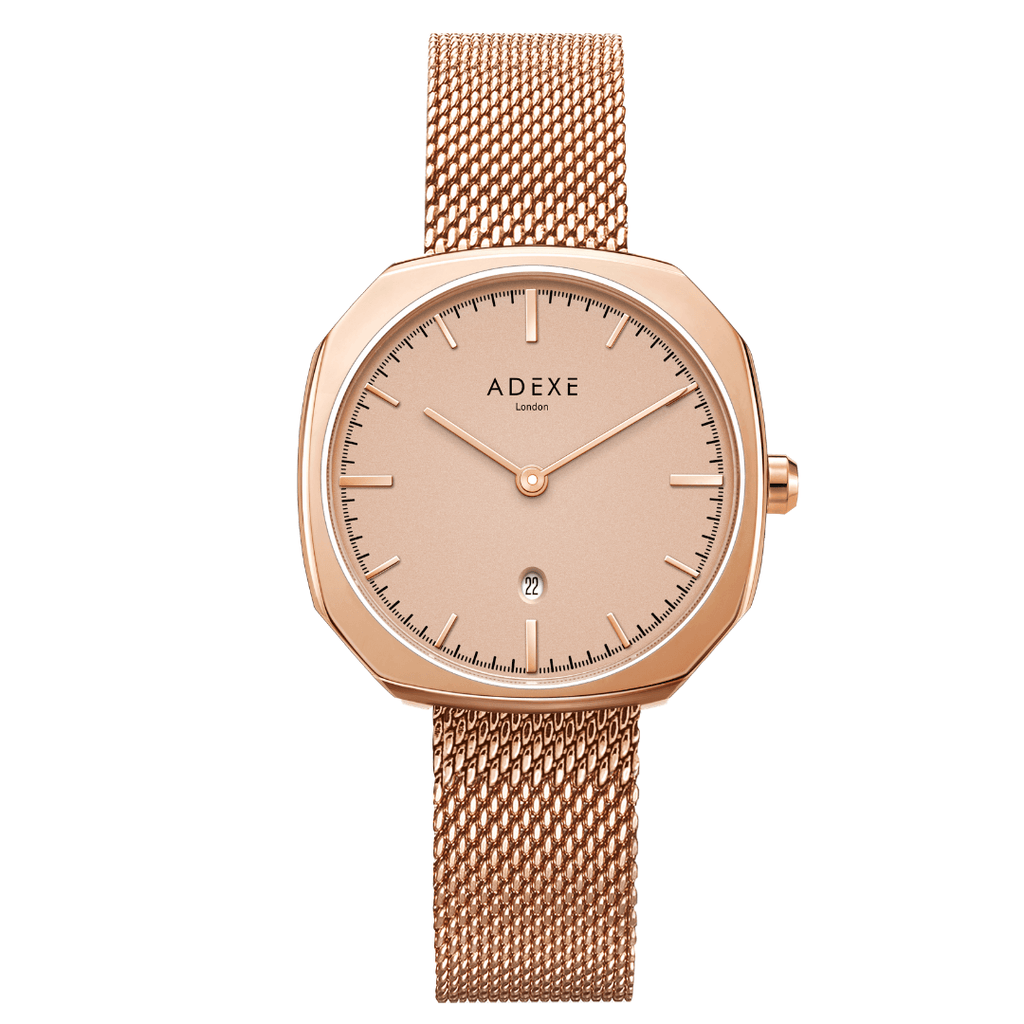 Hanover ADEXE Watches Rose Gold