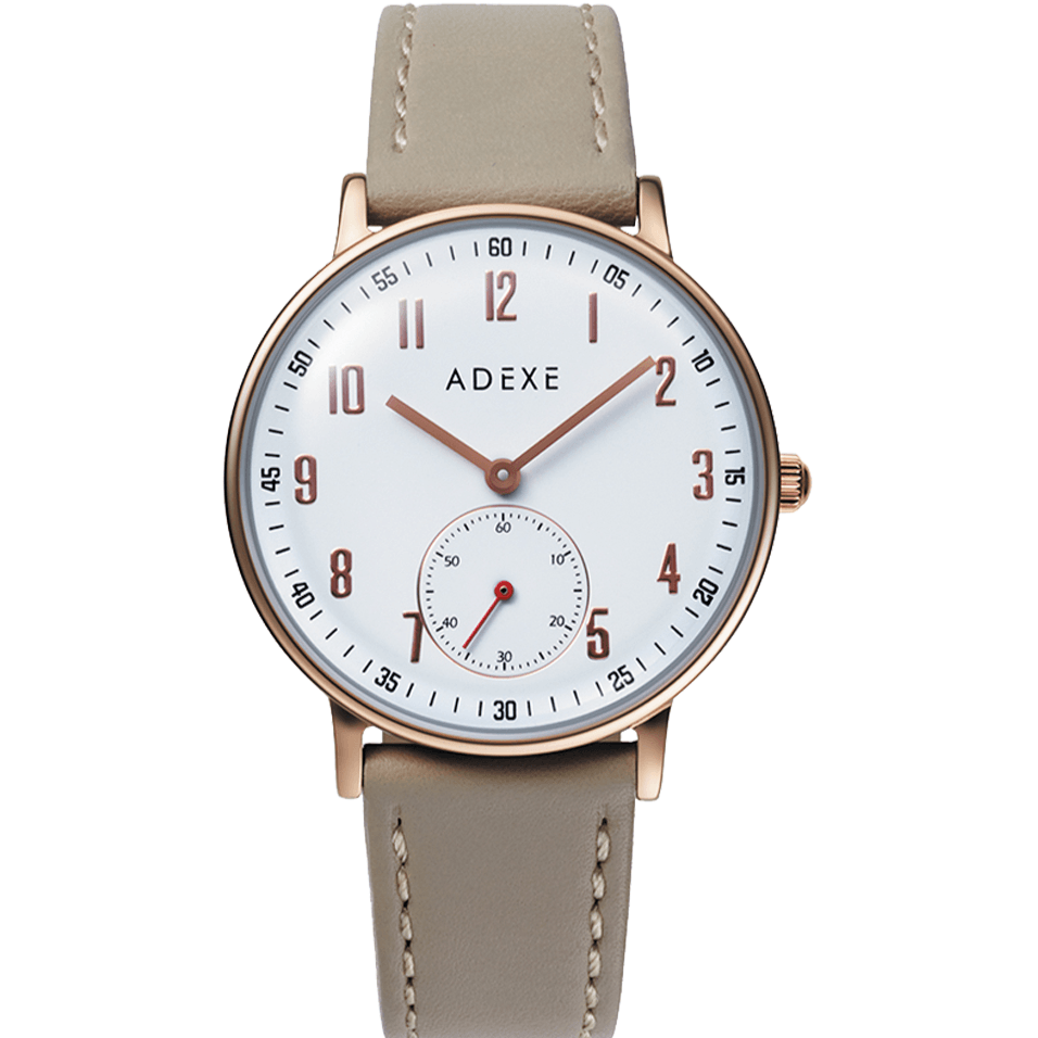 Petite 2.0 - Rose Gold Case 33mm Première Adexe White