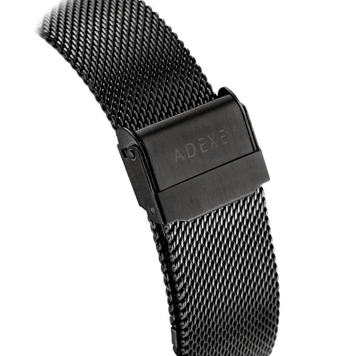 Grande Mesh Band - Black Case 40mm ADEXE Watches