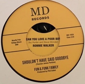 "MD Records - Fun and Funk Family (previously unreleased 7"" vinyl)."