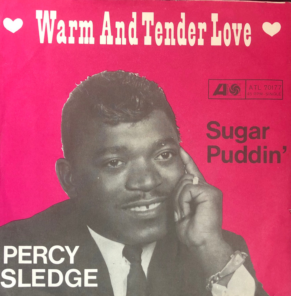 Percy Sledge - Warm and Tender Love - (German) Atlantic