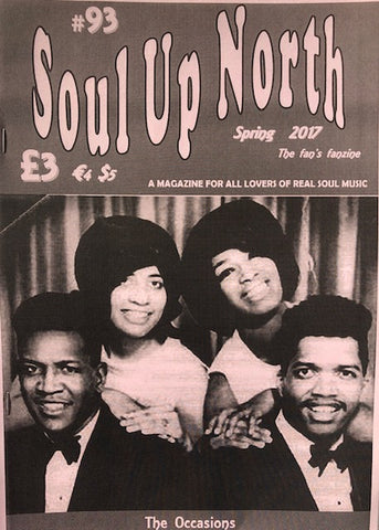 Soul  Up North - Issue 93, Spring 2017.