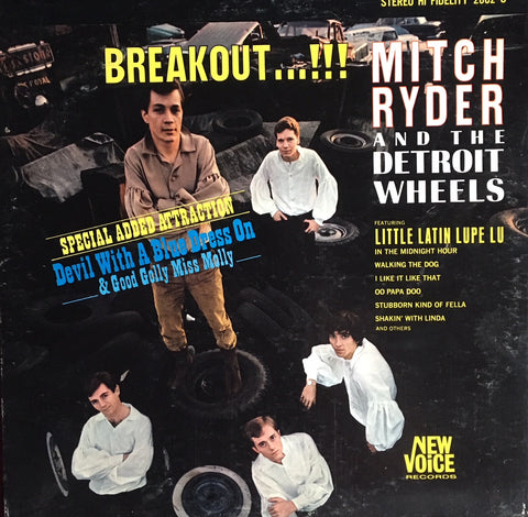 Mitch Ryder and the Detroit Wheels - Breakout !!