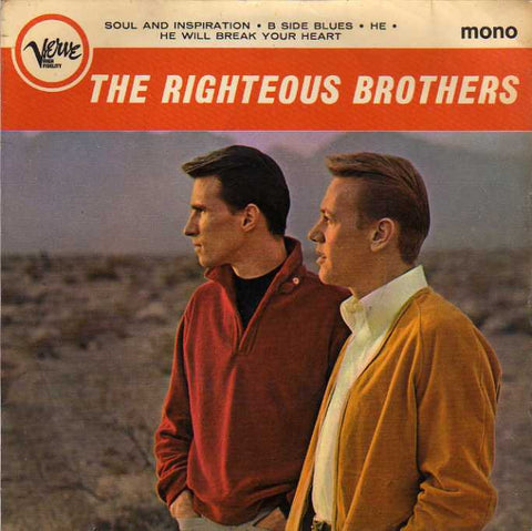 Righteous Brothers - He will break your heart + 3 (EP) - Verve (UK)