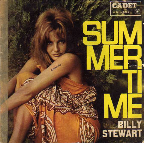 Billy Stewart - Summertime - Cadet (Italy)