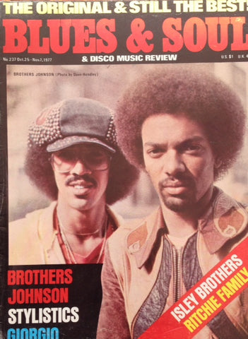 Blues & Soul. Issue 237, October / November 1977