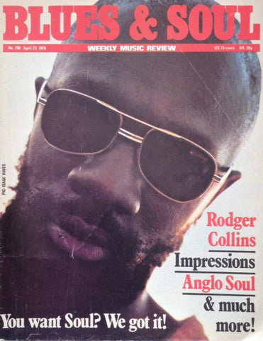 Blues & Soul. Issue 190, April 1976