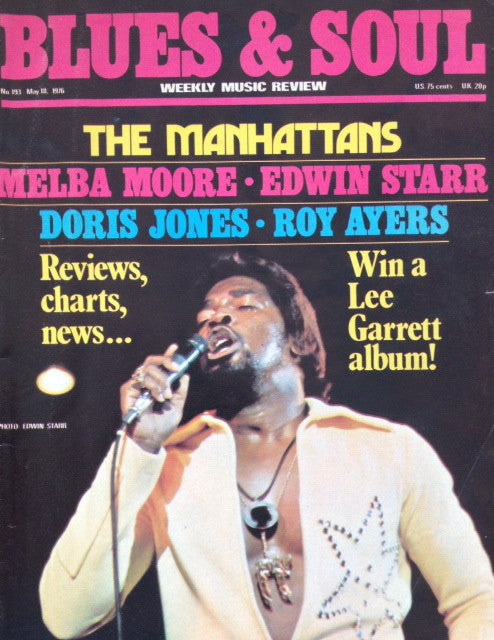 Blues & Soul. Issue 193, May 1976