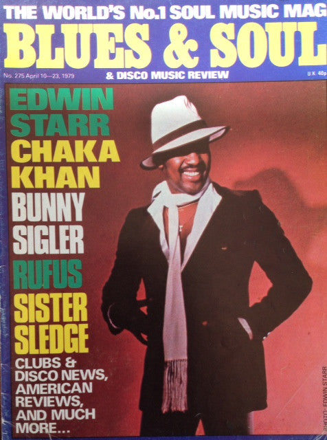 Blues & Soul. Issue 275, April 1979
