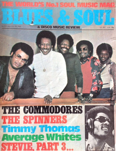 Blues & Soul. Issue 223, April 1977