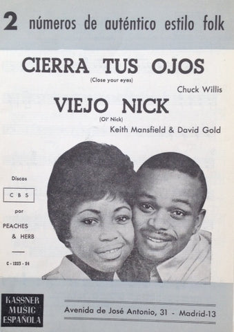 Peaches and Herb - Close Your Eyes