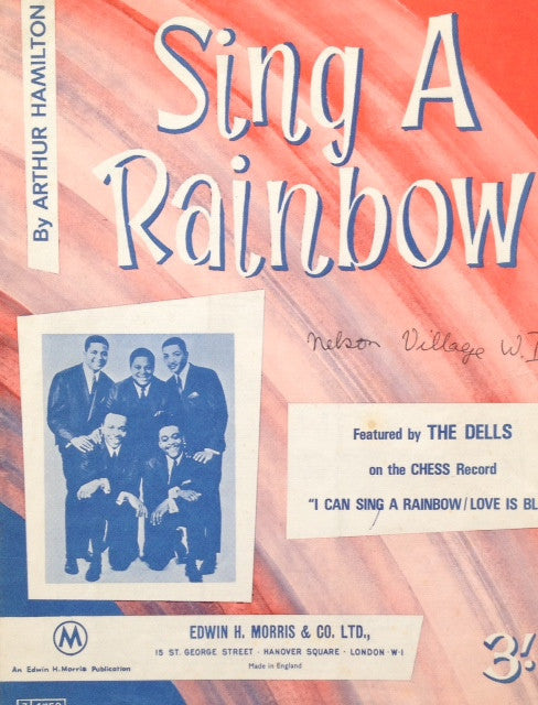 The Dells - Sing a Rainbow