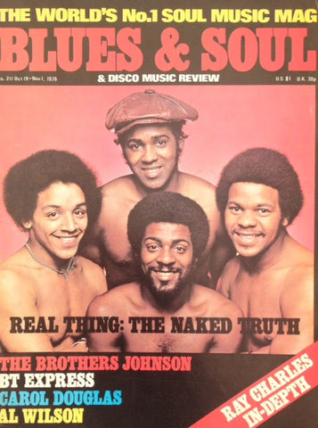 Blues & Soul. Issue 211, October / November 1976