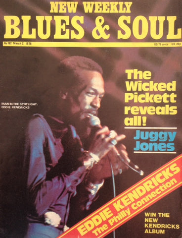 Blues and Soul. Issue 182, March 1976
