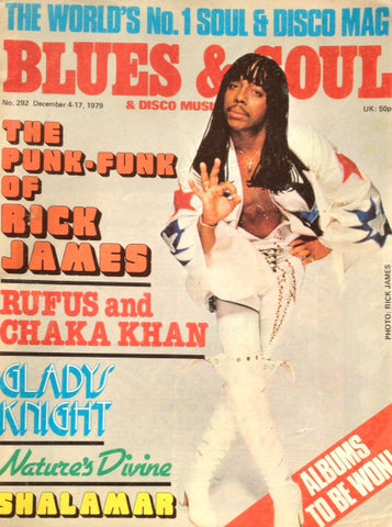 Blues & Soul. Issue 292, December 1979.