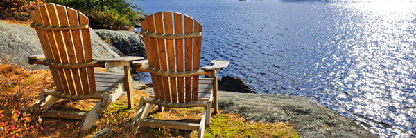 Original Adirondack bear Chairs