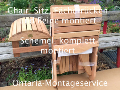 Adirondack Chair Montageservice