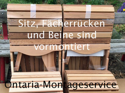 Montageservice 2 Original Bear Chairs