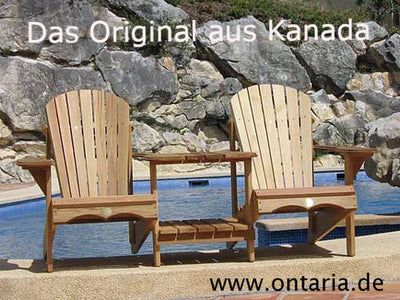 Adirondack Chair - Original Bear Chair Tête-à-tête
