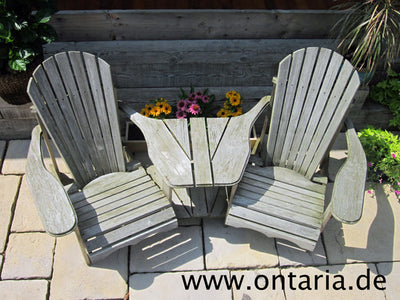 Adirondack Chair - Original Bear Chair Eck-Tête-à-tête 9