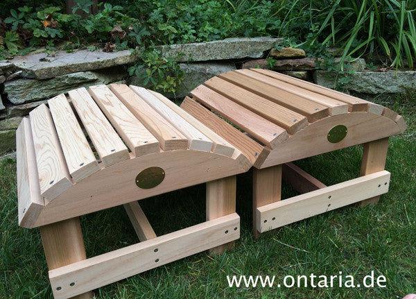 2 Adirondack Chair - Bear Chair Schemel