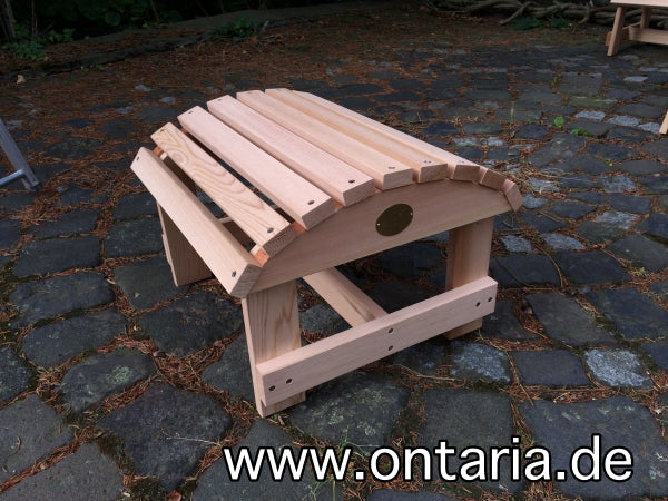 Adirondack Chair Hocker