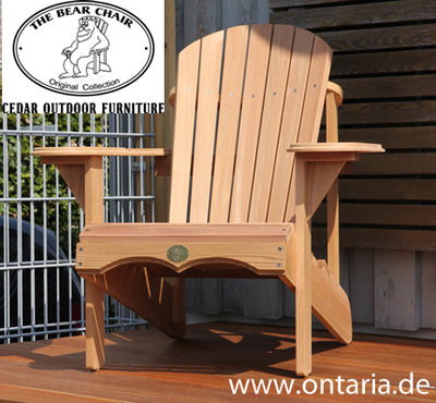 1 Adirondack Chair (White Pine)