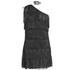 1920s Black Flapper Fancy Dress Costume Womens  UK Sizes 8-16 - UK Fancy Dress at Emmas