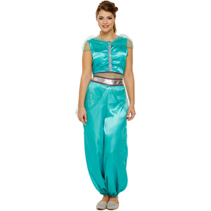 Arabian Princess Ladies Fancy Dress Costume by Emmas Wardrobe - UK Fancy Dress at Emmas