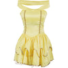 Yellow Princess Fancy Dress Costume Ladies UK Sizes 6-16 - UK Fancy Dress at Emmas