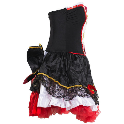 Image of Queen of Hearts Fancy Dress Costume Ladies UK Size 6-16 - UK Fancy Dress at Emmas