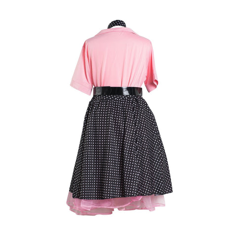 1950's Rock and Roll Ladies Fancy Dress Costume - UK Size 8 - 22 - UK Fancy Dress at Emmas