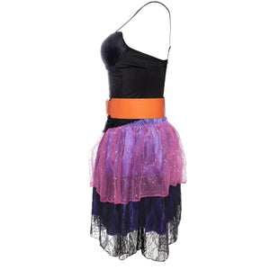 80's Pop Star Ladies Fancy Dress Costume Size 8 10 12 14 - UK Fancy Dress at Emmas