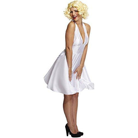 50s Marilyn Monroe Ladies Fancy Dress Halloween, Hollywood themed parties - UK  8-12 - UK Fancy Dress at Emmas