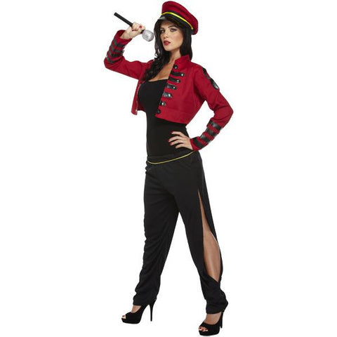 Pop Judge Fancy Dress Costume Iconic Singing Popstar Womens UK Size 8 10 12 - UK Fancy Dress at Emmas