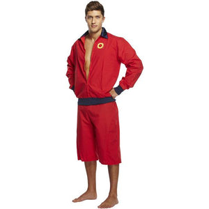 Lifeguard Fancy Dress Costume Men - Baywatch outfit 90's Pool Party Stag - UK Fancy Dress at Emmas