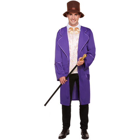 Chocolate Factory Fancy Dress Costume Men - Perfect Book Day or Movie them outfit UK Size M-XL - UK Fancy Dress at Emmas