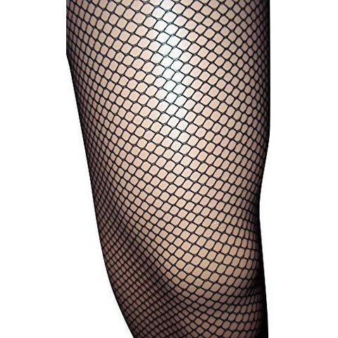 Emmas Wardrobe Black Fishnet Tights - Diamond - One Size Fits all (Black) - UK Fancy Dress at Emmas